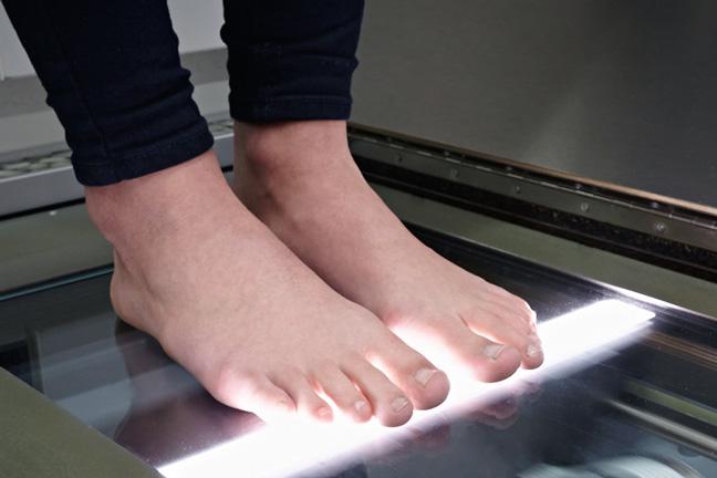 Digitaler Fußscanner