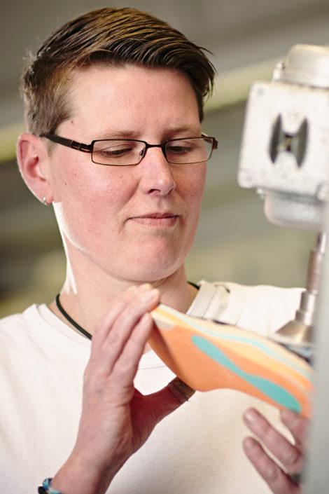 Gesunde, orthopädische Herstellung der Schuheinlagen