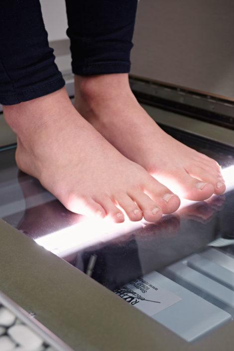 Fußscanner